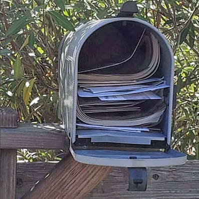 junk mail box - 5000 pcs